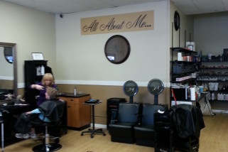 "All New Look For ""All About ME"" Hair Salon"