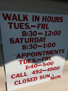 Mario's Barber Shop Hours