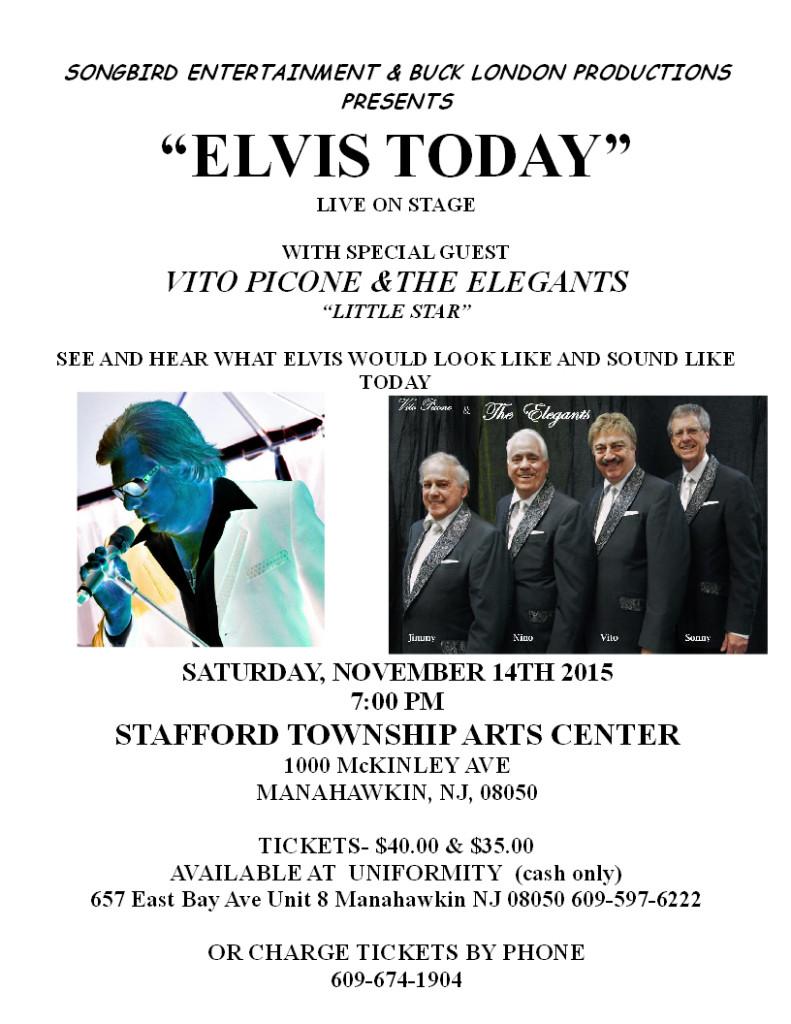 Watch Elvis Live in Manahawkin, NJ