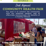 Health Fair at The Manahawkin Flea Market