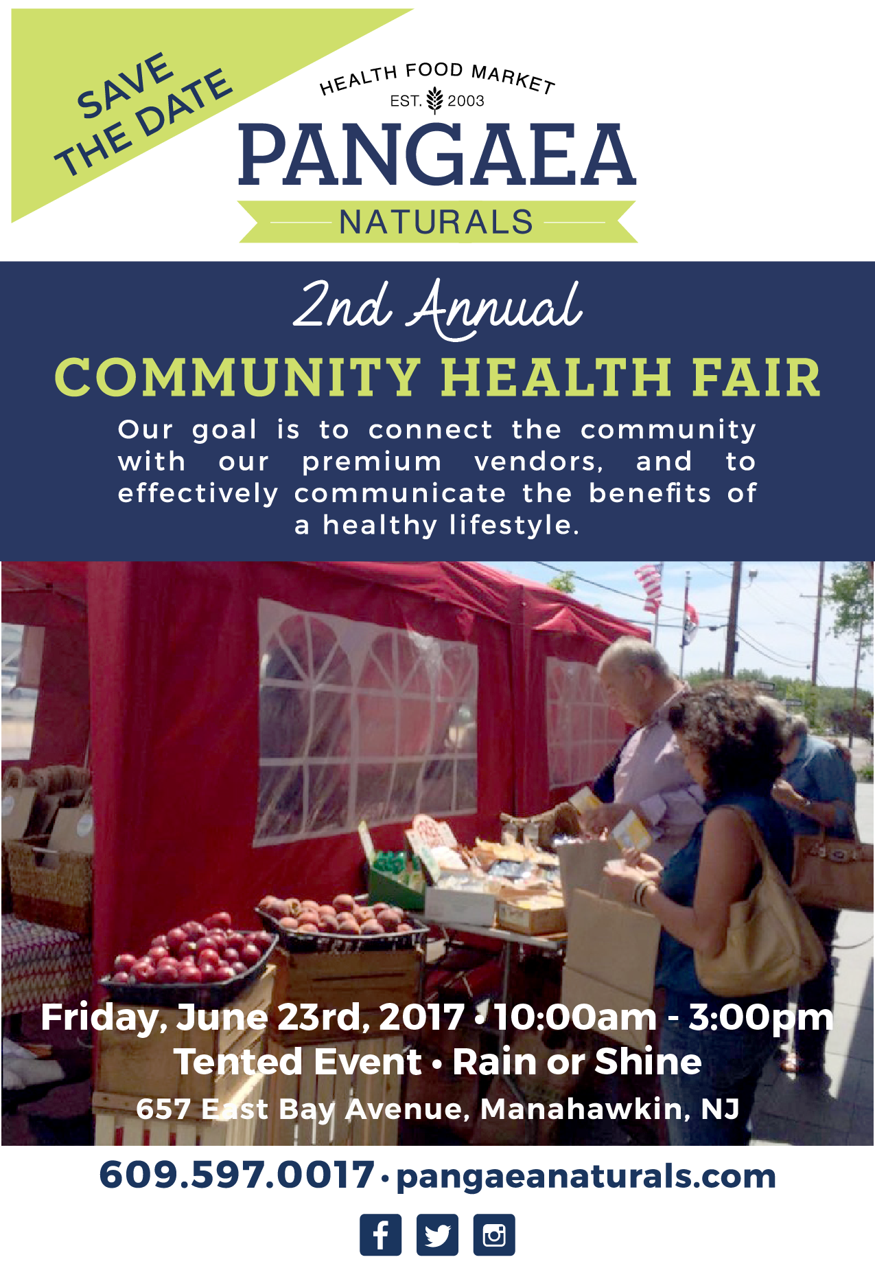 Manahawkin Flea Market Health Fair
